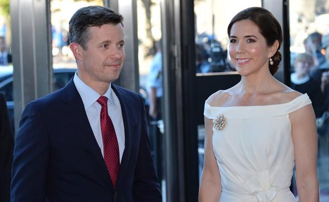 Принцеса Мери и съпругът ѝ принц Фредерик