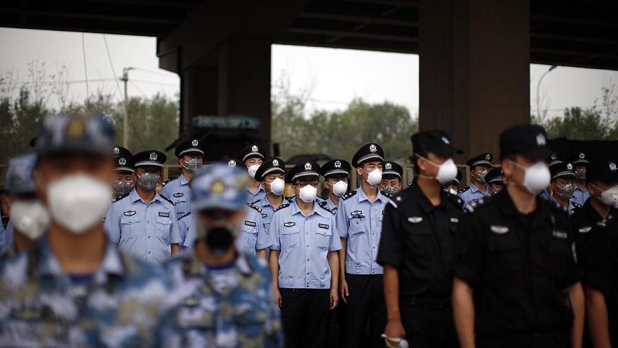 Китай експлозия Тиендзин