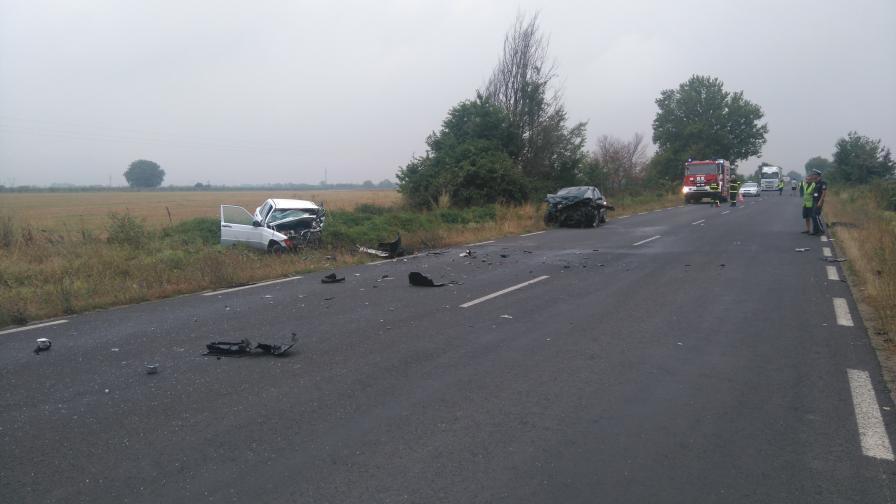 Тежка катастрофа с жертва затвори Подбалканския път