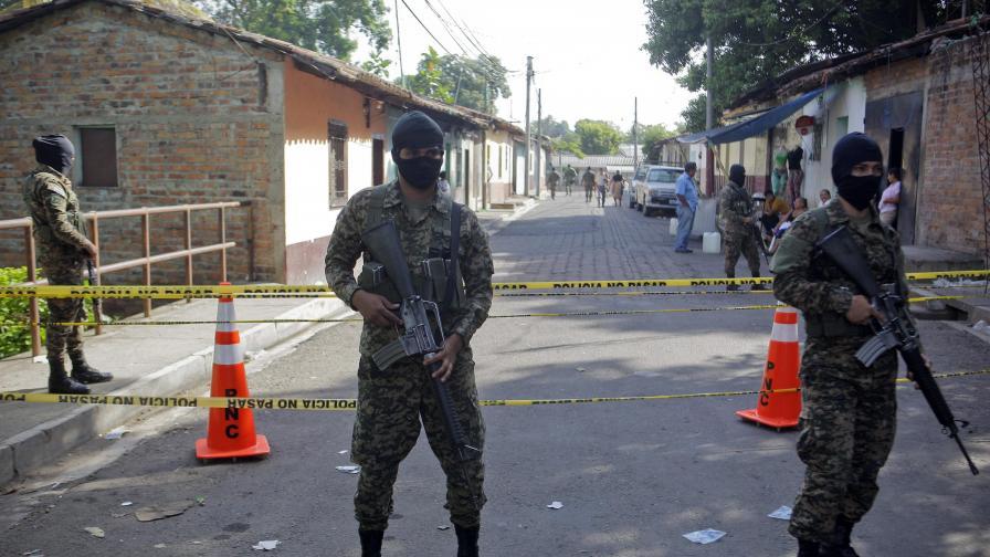 В Салвадор обявиха уличните банди за терористични групи