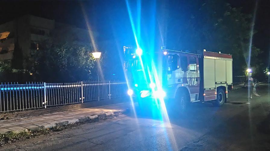 Евакуираха 200 русначета заради пожар в хотел в Приморско