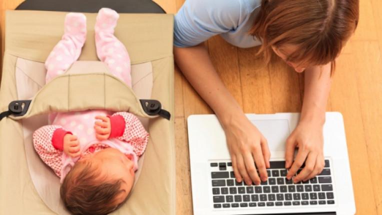 жена майка майчинство
