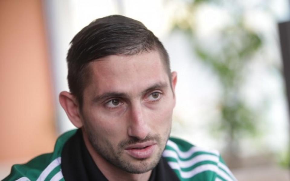 Петима българи в един мач в Румъния, Златински с червен картон