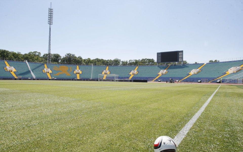 """Националният стадион """"Васил Левски"""" се нареди до водещите спортни съоръжения"""