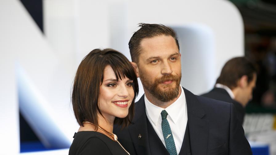 Том Харди и съпругата му очакват дете