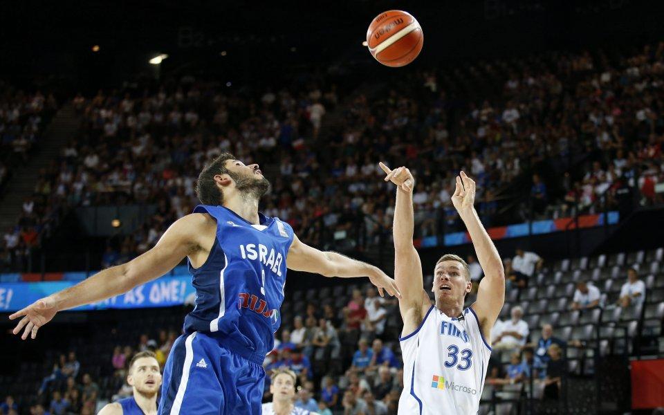СНИМКИ: Израел с нов успех на Евробаскет 2015