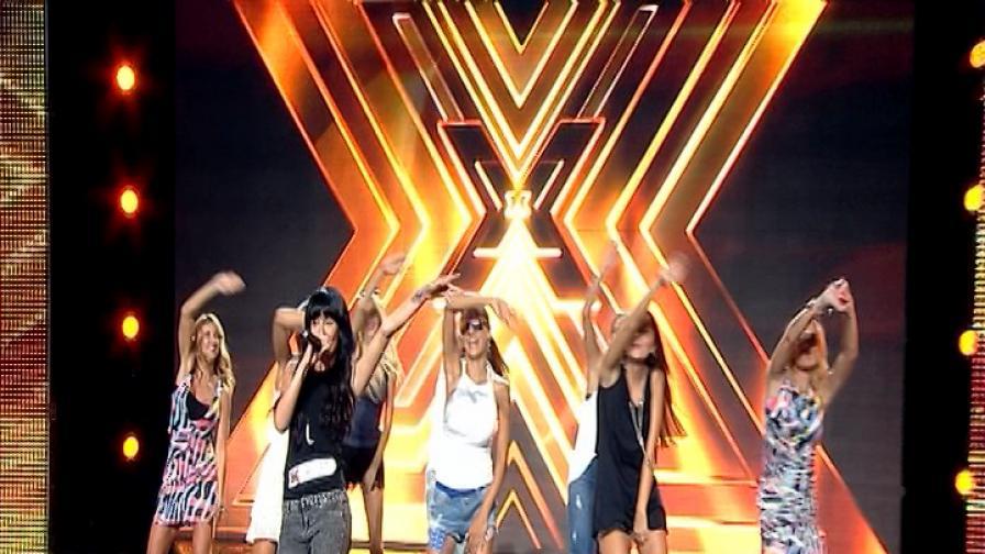 Водещите на X Factor в импровизирана хореография