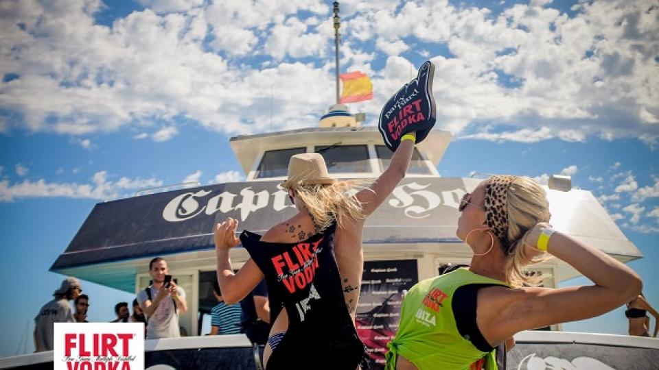Разцепващият парти тур на FLIRT Ibiza ще остане в историята!