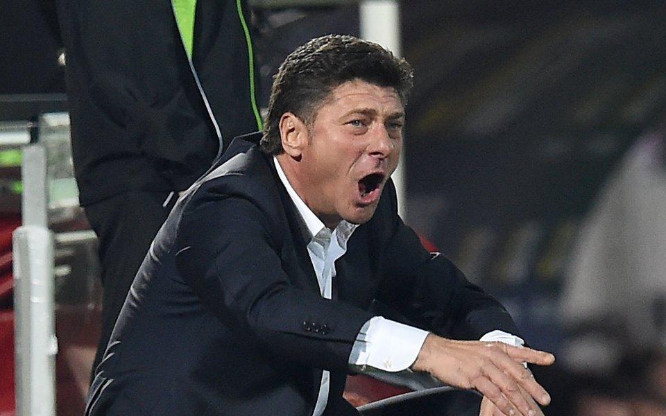 Старши треньорът на Торино Валтер Мадзари е много близо до