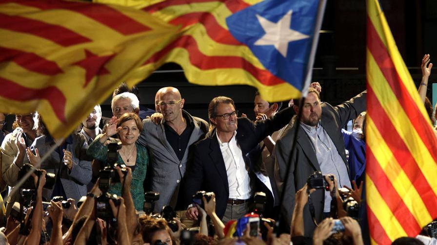 Сепаратистите спечелиха изборите в Каталуния