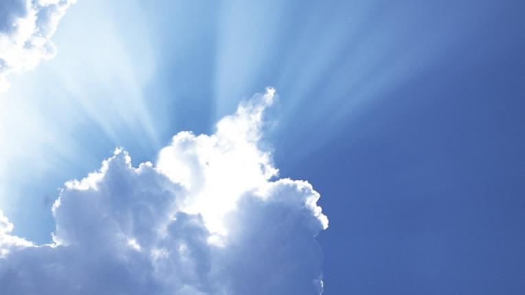 слънце небе