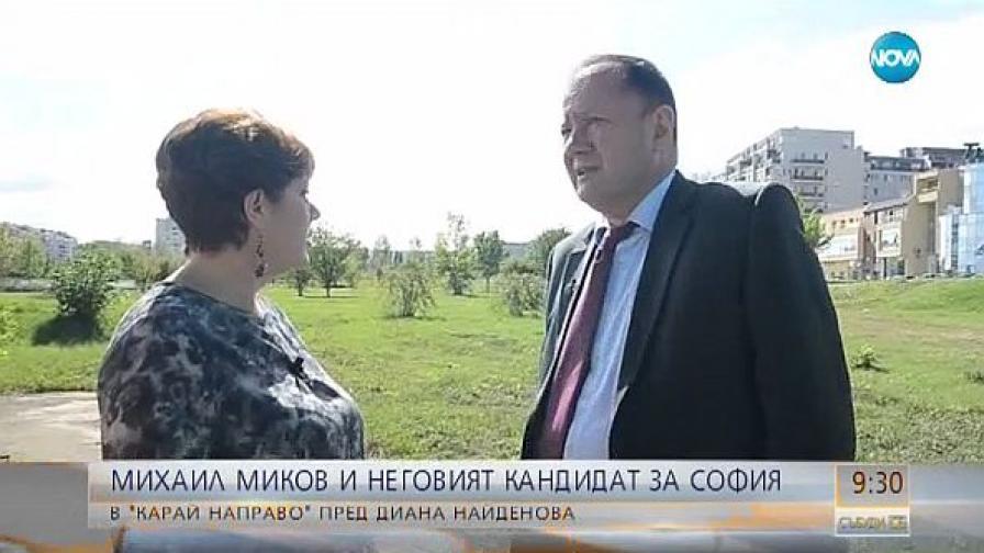 """Михаил Миков в """"Карай направо"""": Отиваме на балотаж"""