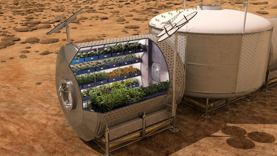 """Космическото фермерство - факт не само в """"Марсианецът"""""""