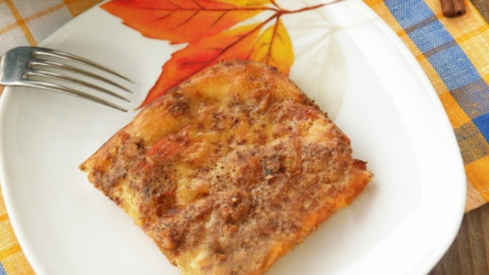 Бърз десерт с печена тиква