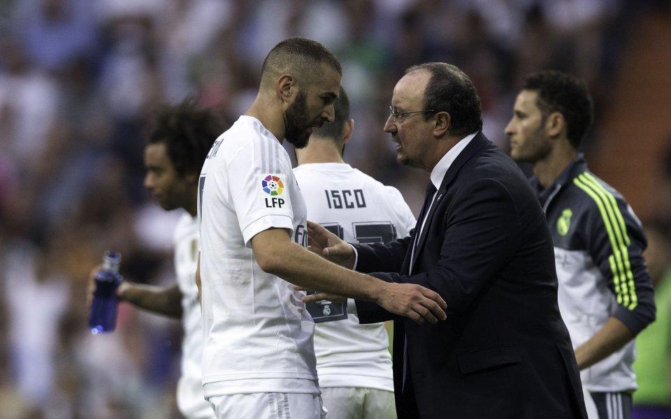 Скандал в Реал: Бензема се сопна на Бентиес