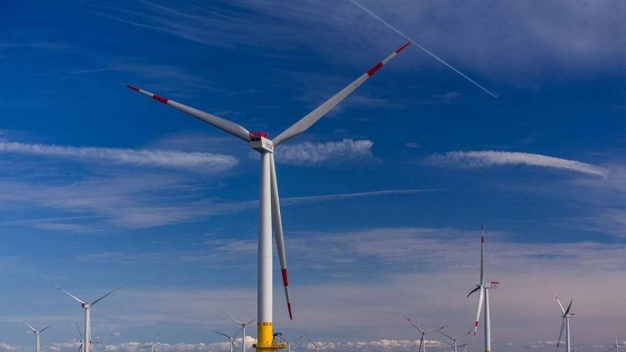 Вятърната енергия в момента е най-евтината, която се произвежда в Германия и Великобритания
