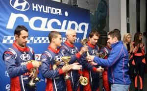 Hyundai Racing Trophy развива млади пилоти, сезонът е успешен