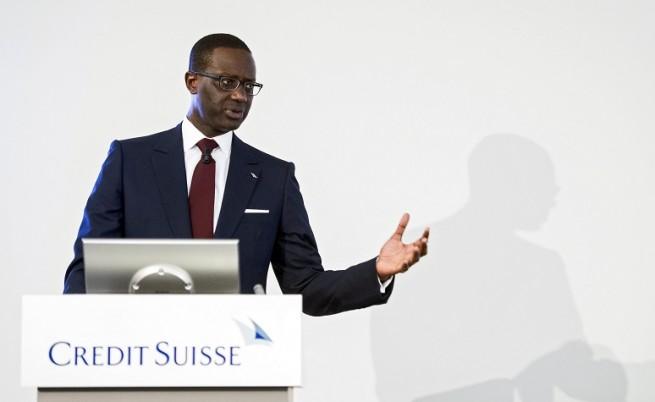 Изпълнителният директор на Credit Suisse, Tидяне Тиам