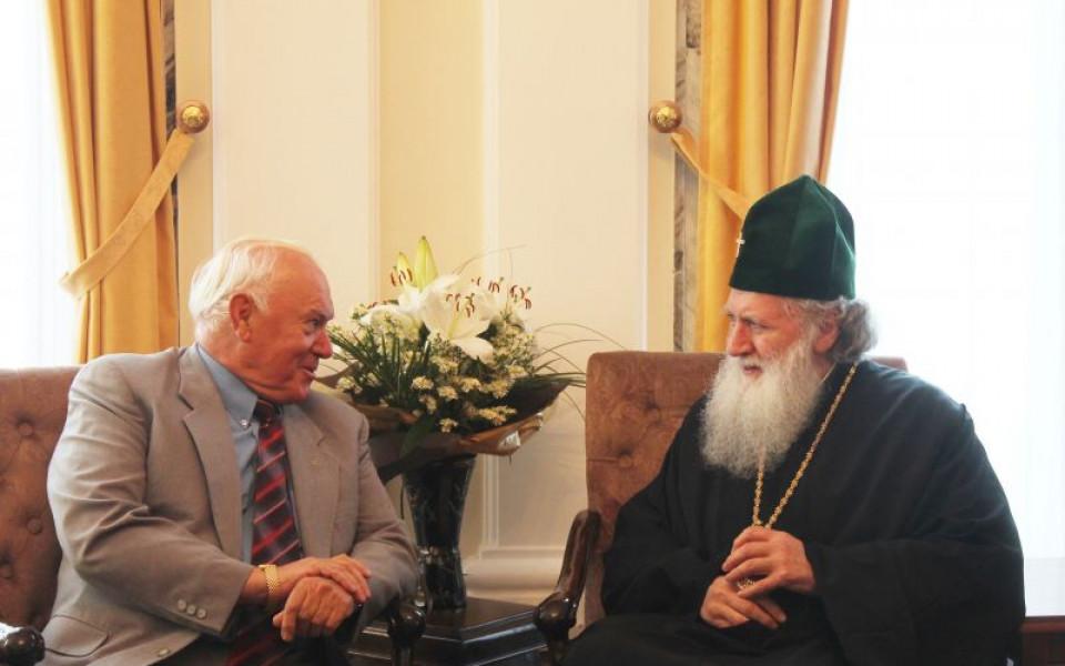 От ЦСКА поздравиха Патриарха за 70-годишния му юбилей