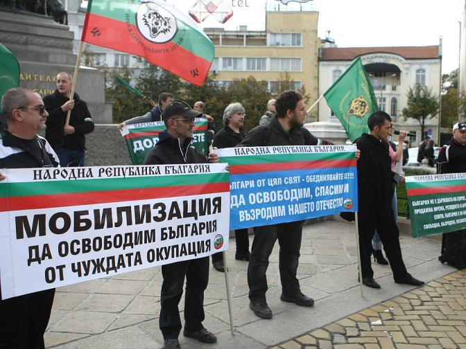 нелегални имигранти протест бойко меркел
