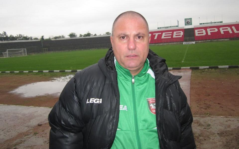 Джамбазки недоволен от играта на Ботев Враца, въпреки победата