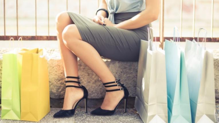 шопинг мания жена пазаруване