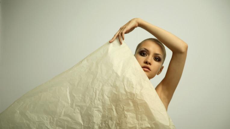тяло мода хартия дрехи