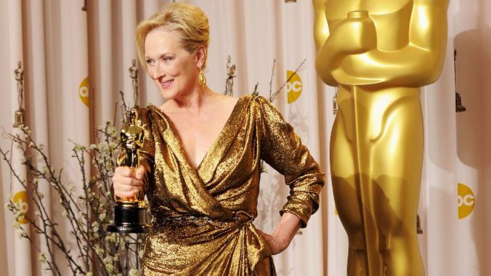 Златната Мерил Стийп с трети Оскар