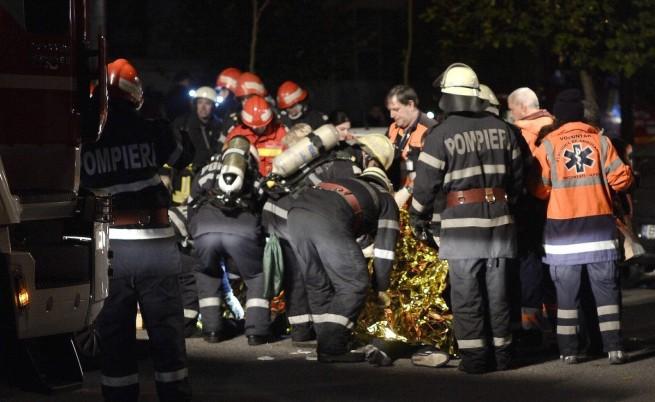 27 загинаха след пожар в нощен клуб в Букурещ