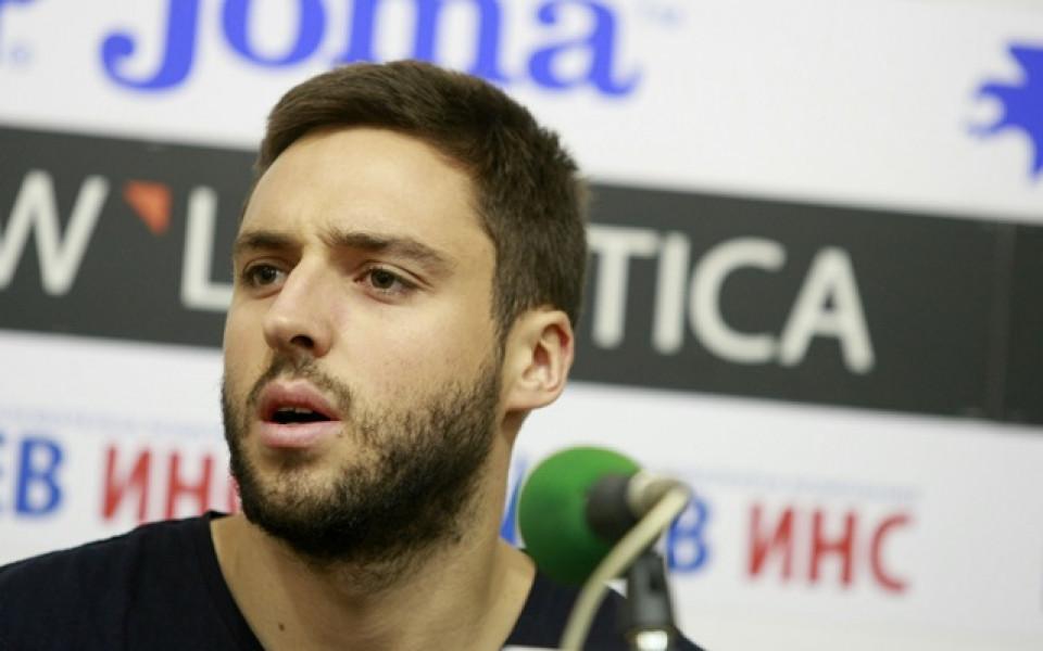 Ради Василев се възстановява в Болоня, поздрави Славия