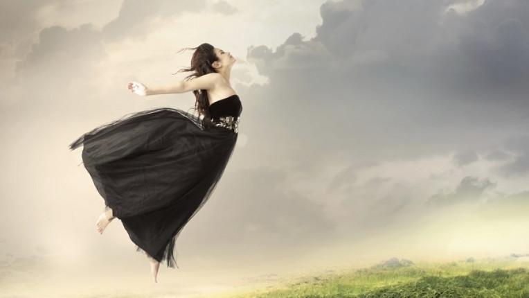 летящо момиче