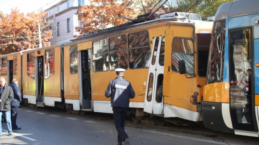 Бременна жена е пострадала в трамвайната катастрофа
