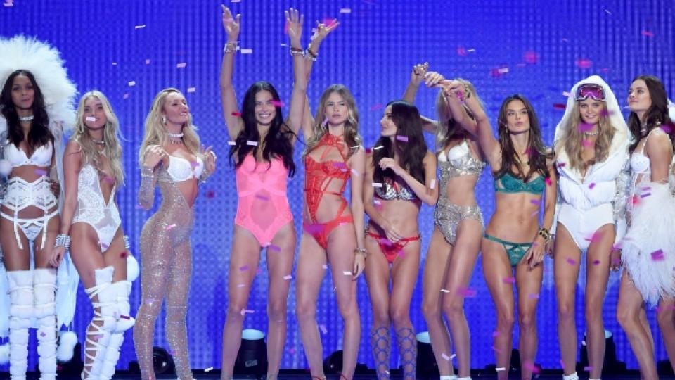 """""""Ангели"""" по бельо – изумителното шоу на Victoria's Secret"""