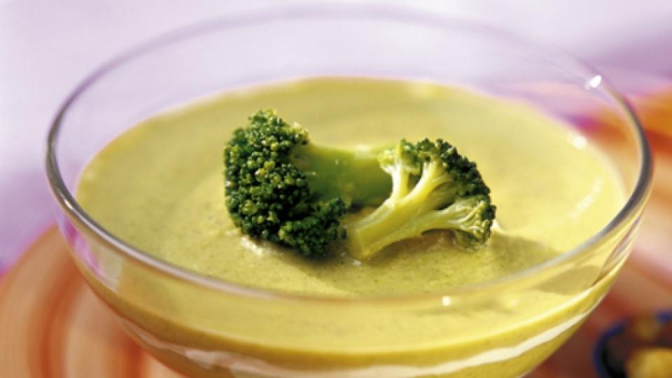 Супа от броколи и сирене