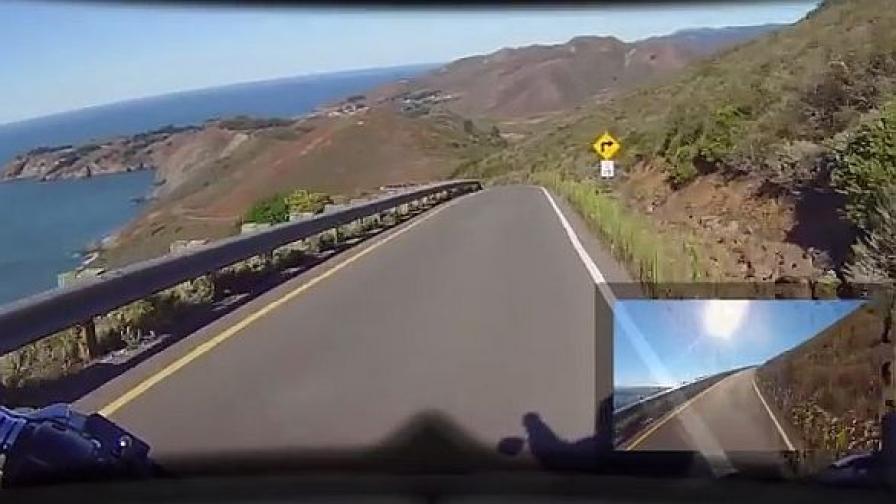 """Умна каска """"с очи и отзад"""" показва пътя на 360 градуса"""