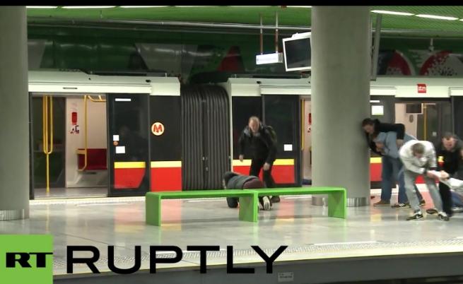 Полицията в Полша организира тренировка за евакуация при атентат