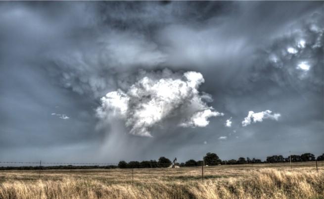 Формиране на торнадо в Оклахома