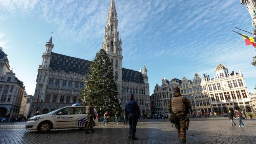 В Белгия задържаха петима предполагаеми терористи