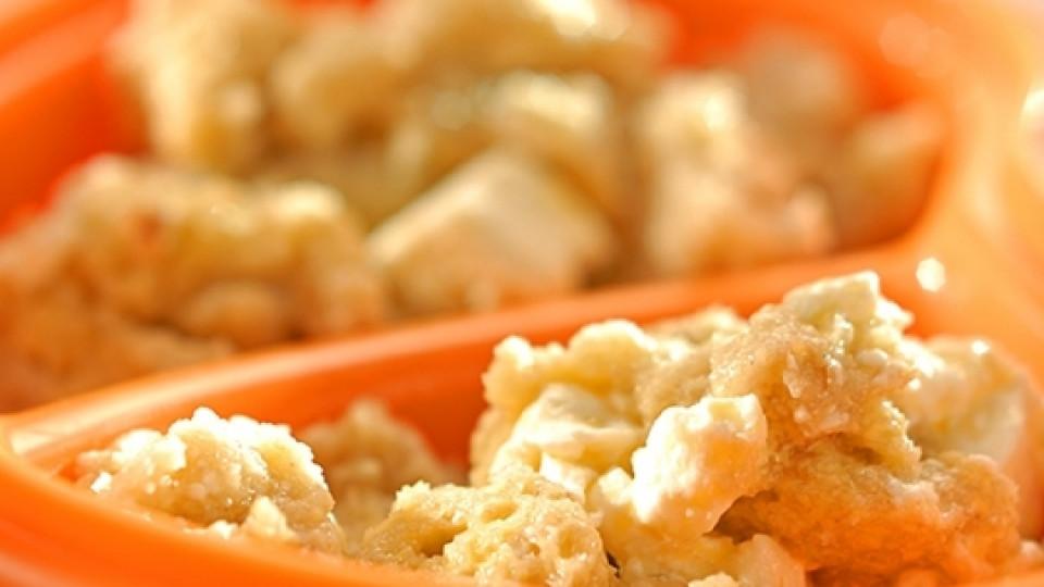 За закуска – попара със сирене и масло