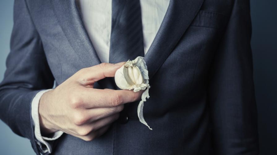 Мъжете са по-привлекателни, когато ... ядат чесън