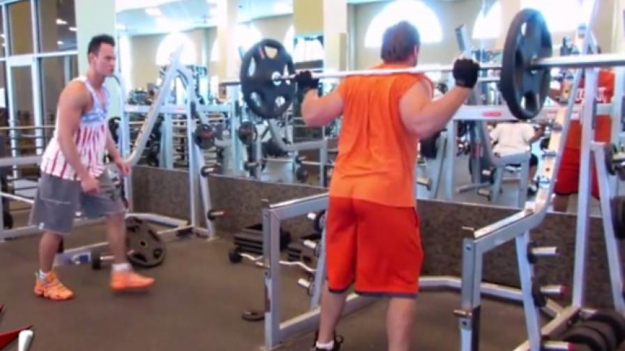 Крадецът на тежести (видео)