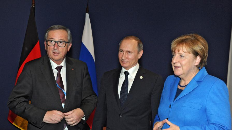 Германия иска мир с Русия