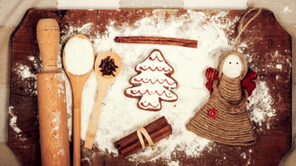 Коледно меню: Ароматни мeдени бисквити