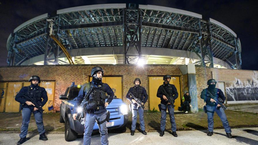 Двама българи арестувани в Неапол