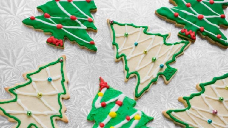 сладки Коледа бисквити