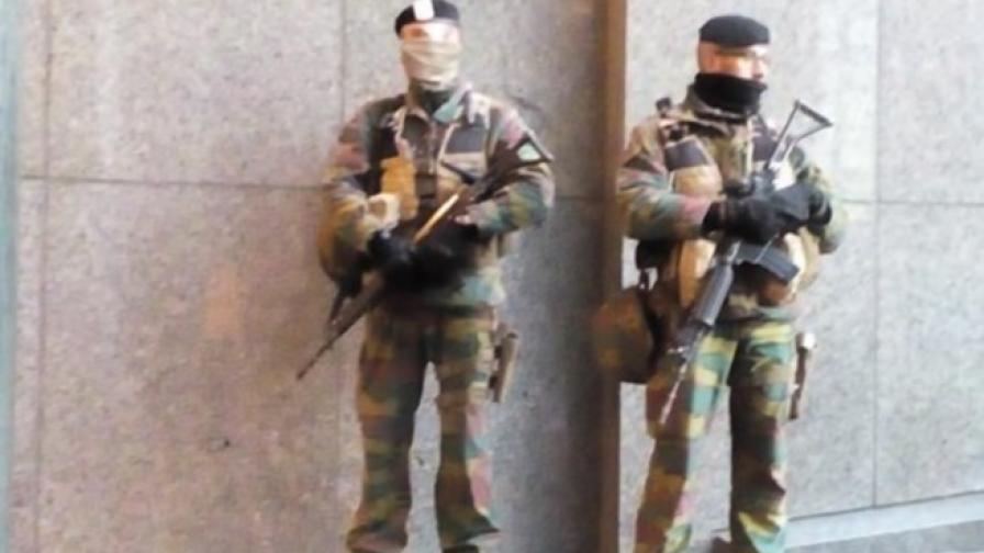 Спецчасти гарантират сигурността в Брюксел