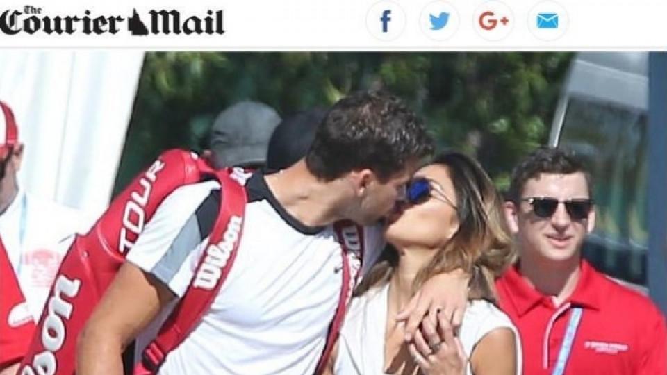 Гришо целува Никол
