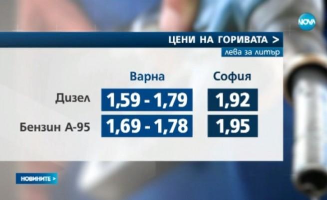 Бензинът във Варна падна под 1,70 лв.
