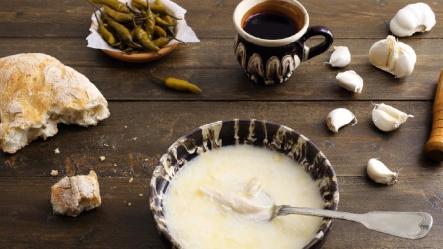 Пригответе вкусна шкембе чорба за 5 минути (видео)