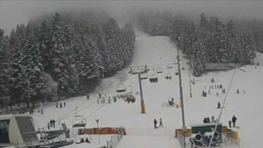 Днес е денят на снега